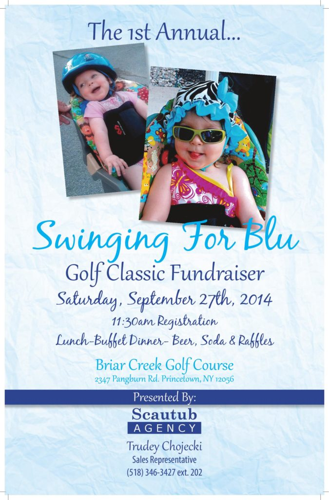 1st Annual Swinging for Blu Golf Classic Fundraiser