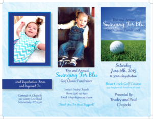 Swinging for Blu Golf Fundraiser June 2015