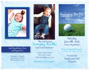 Swinging for Blu Golf Fundraiser June 2015