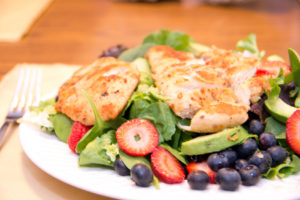 Spring Recipe: Chicken and Strawberry Salad